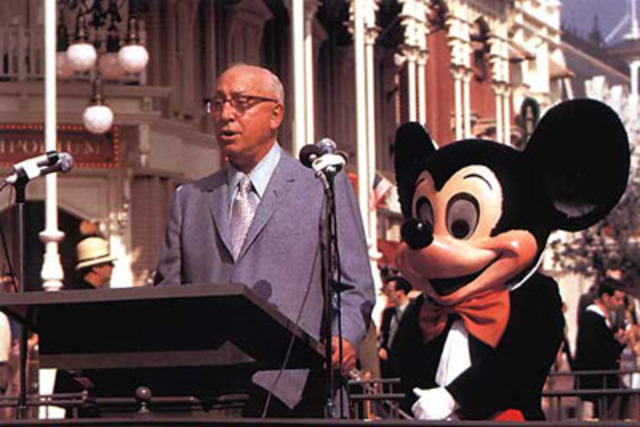 Walt Disney World Opens
