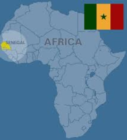 Senegal founded