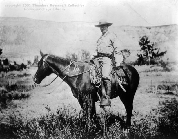 Theodore Roosevelt Ranches the Badlands