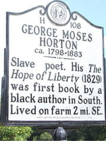 George Horton is Born