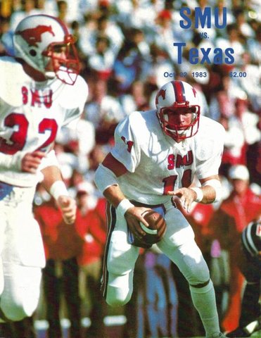 SMU Defeats Texas 20-6.