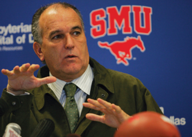 SMU introduces June Jones as head football coach