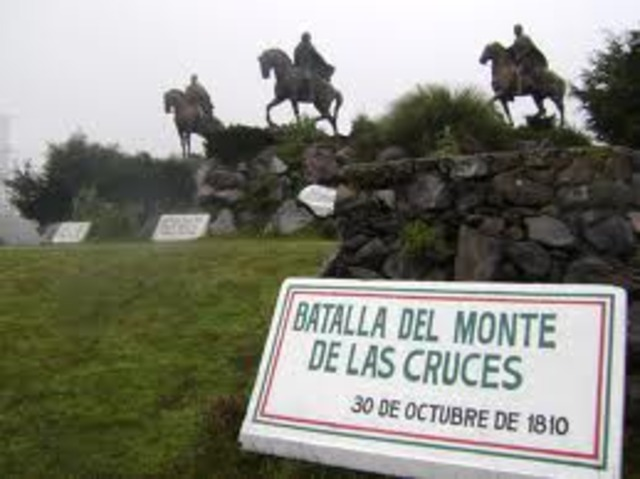 Battle of the Monte de las Cruces