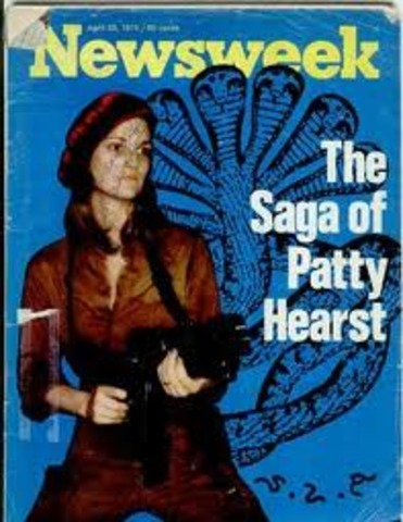 •	Patty Hearst Kidnapped