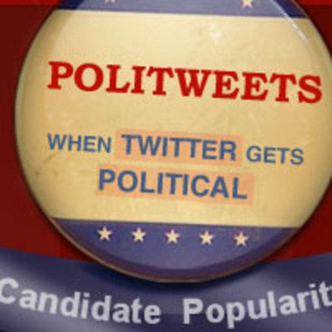 Almost 400 politicians actively engage in Twitter.