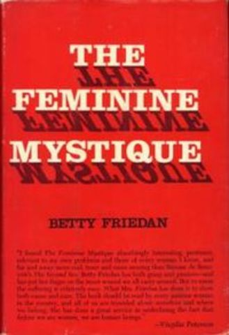 The Feminine Mystique-book by Betty Friedan