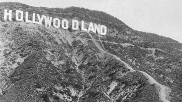 Hollywood Land Sign Built