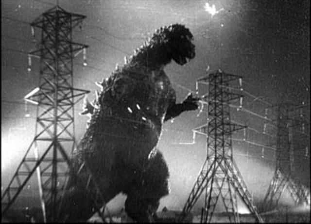 when was godzilla first filmed?