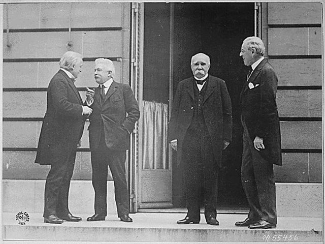 The Peace Conference of Paris