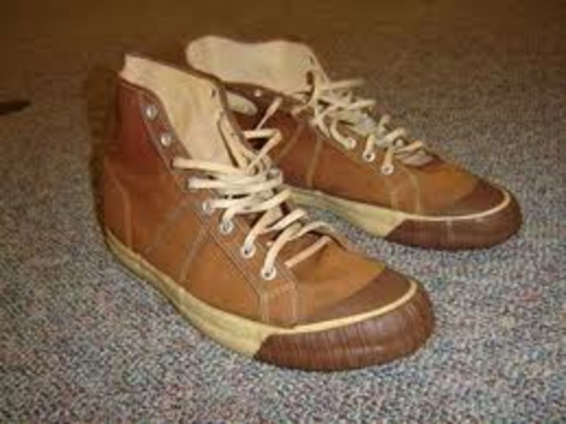 The First Converse Shoe Ever Made