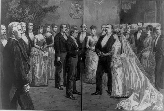 Grover Cleveland Marries Frances Folsom