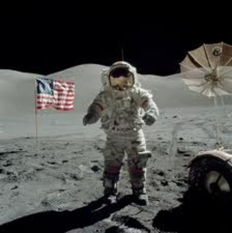 Apollo 17 Last Man on the Moon