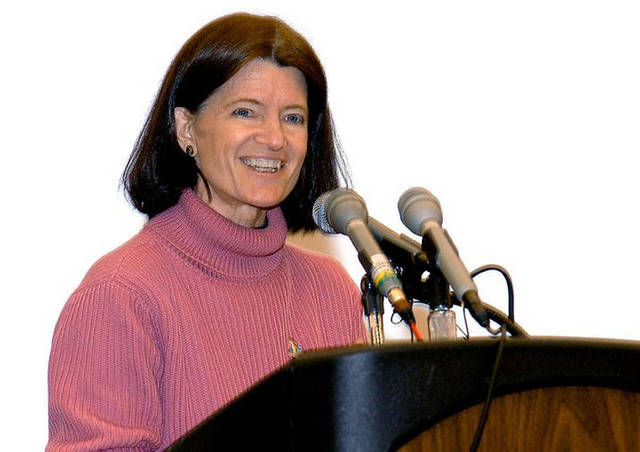 Sally Ride becomes a professor.