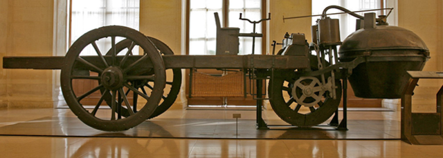 1st car made by Nicolas-Joseph Cugnot