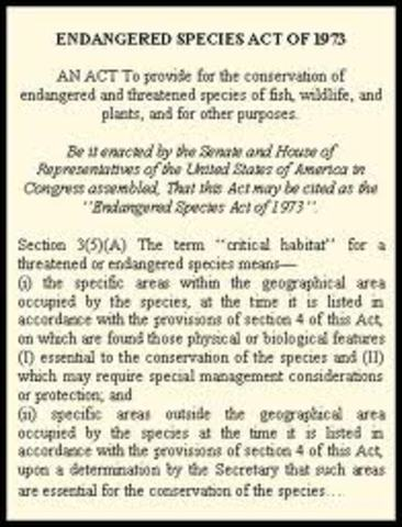 Endanger Species Act