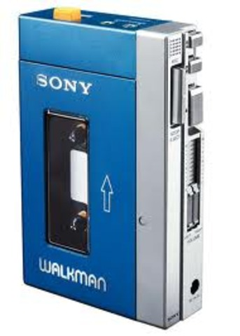 Sony Introduces the Walkman