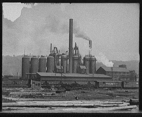 Carnegie's Steel Mill