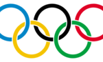 Olympic rings  landscape
