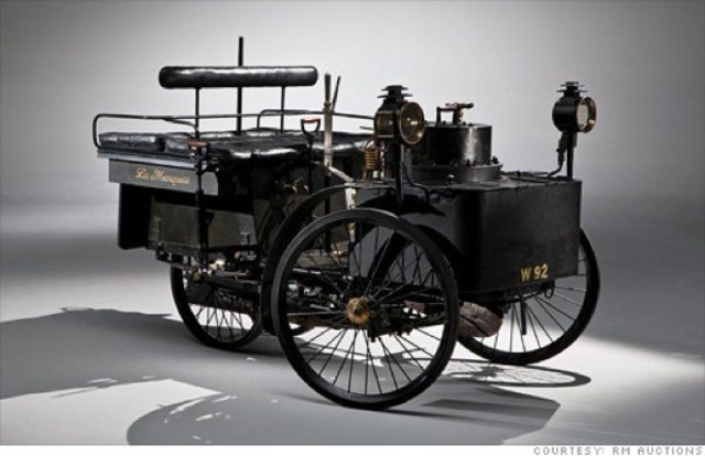 Britain's steam powered cars