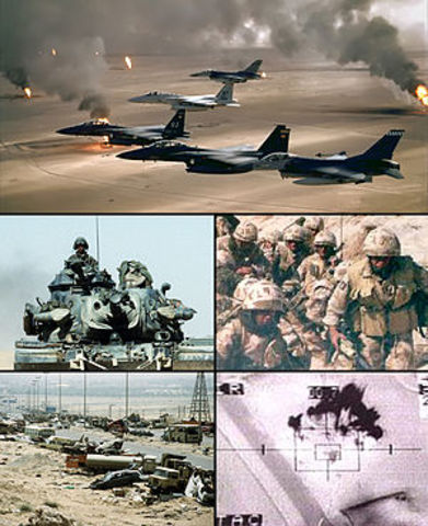 America Leads UN in Gulf War