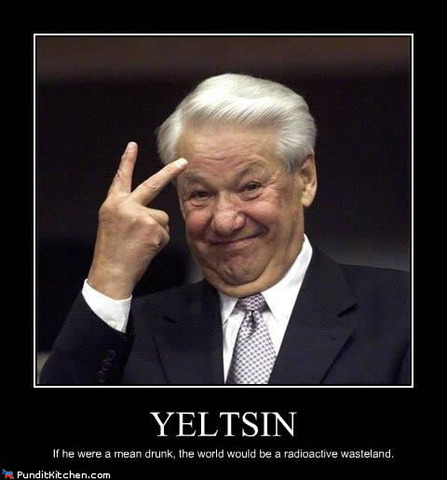 Boris Yeltsin's Elected President of Russia