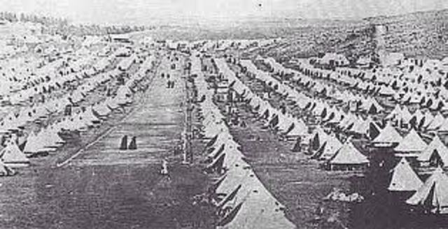 Concentration camps begin