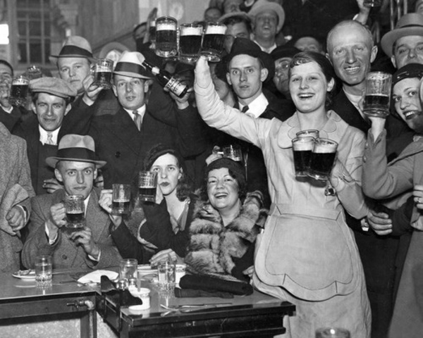 The Prohibition began