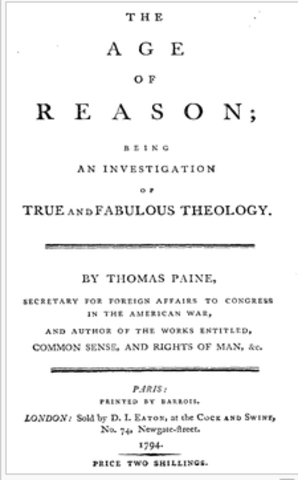 The Age of Reason-Thomas Paine