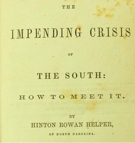 The Impeding Crisis of the South-book