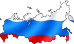 800px russian flag with map  landscape