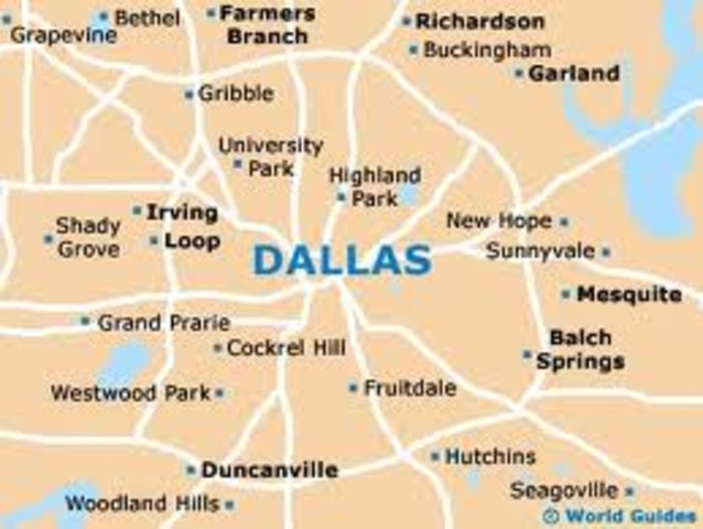 The first syrup manufacturing plant outside Atlanta was opened in Dallas, Texas.