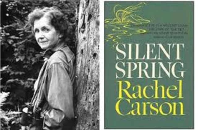 Rachel Carson Published Silent Spring