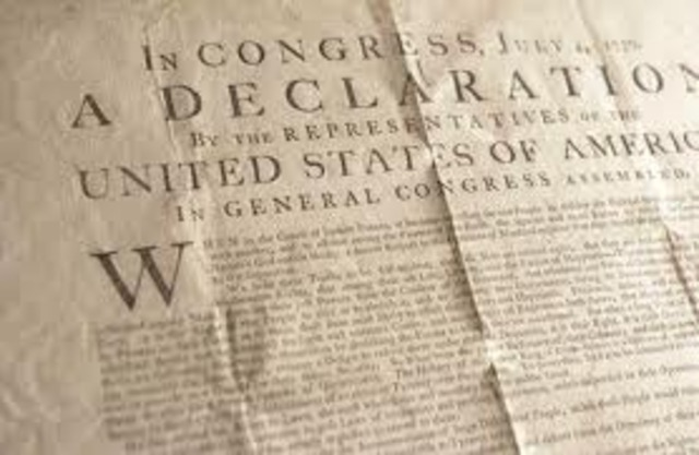 United States of America Decleration of Independence