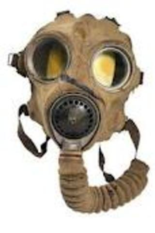 The U.S.A used the gas mask in ww1