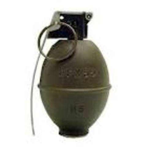 Gremans used chemical inside a grenade