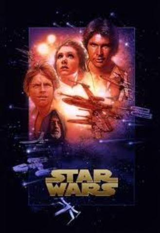 Star Wars movie was released