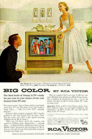 Transcontinental and Colour Tv introduced