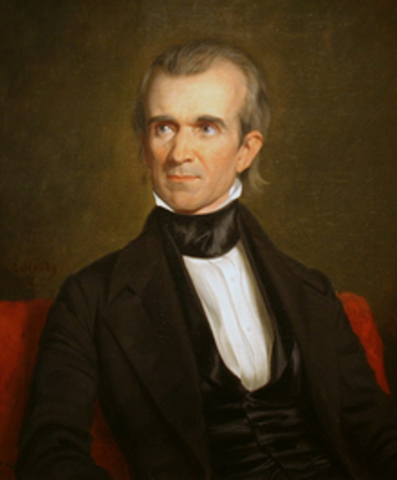 Eleventh President : James Knox Polk 1845-1849