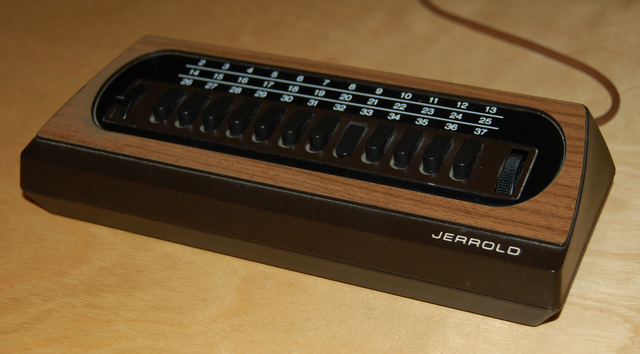 Jerrold Cable Converter Box