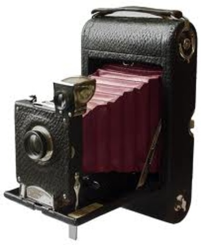 Eastman patents Kodak roll-film camera