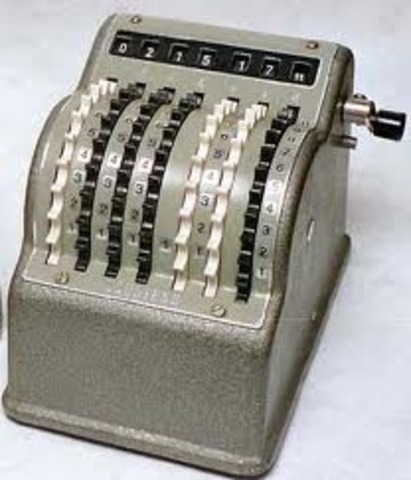 Inention of the Mechanical Calculator