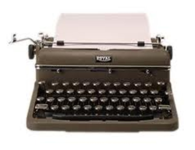Invention of the Modern typrwriter