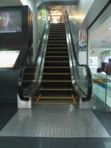 Invention the escalator