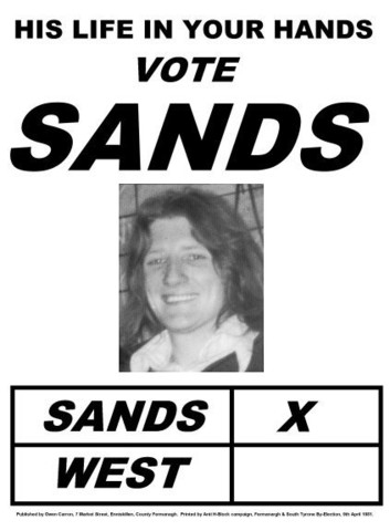 Sands Elected MP