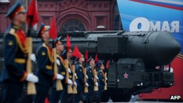 Putin warning Moscow Parade to mark victory in WWII