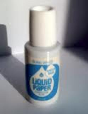 liquid paper inventor I've heard some people say that it was george clooney (or somethingorother) in 1966, but i've heard others say that it was mike nesmith's (of the monkees) mom, bette nesmith graham in 1951.