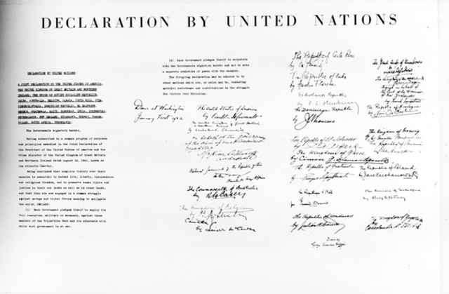 history of the united nations since its creation in 1945 Top 10 failures of the united nations andrew fitzgerald january 28, 2013 share 1k stumble 1 tweet pin 6 below are ten failures of the un since its inception 10 at the creation of the un in 1945, the united states was the only nation in the world to own and test nuclear.