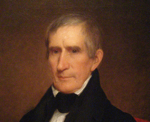 William Henry Becomes President