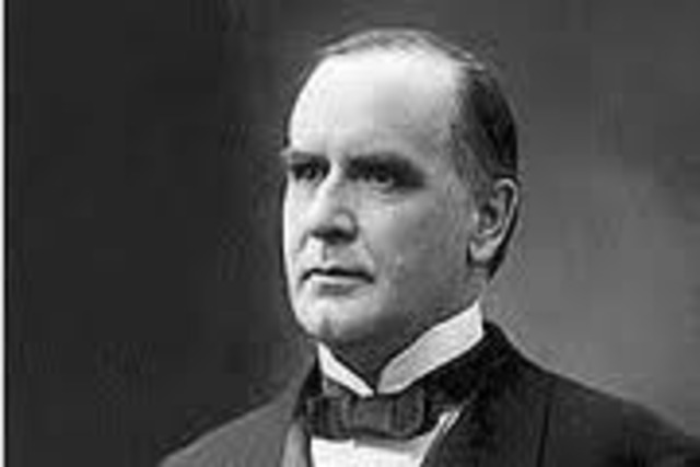 a biography of william mckinley the twenty fifth president William mckinley (democrat) was the twenty-fifth president of the united states of america from 1897-1901 he was cut down by an assassin's bullet on september 14, 1901 his vice president was garrett hobart, until 1899, then vacant until march, 1901, then the vp was theodore roosevelt | see more ideas about.