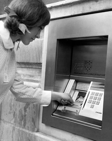First ATM invented